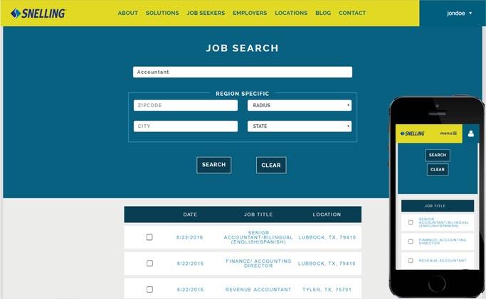 Snelling Job Search